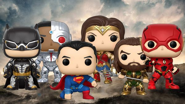Justice League Funko Pop! Figure Set